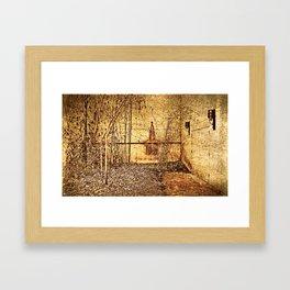 Bamboo Autumn Framed Art Print