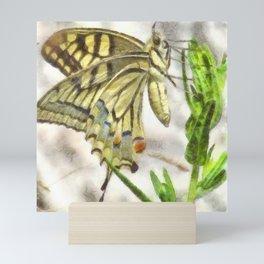 Butterfly Watercolor Mini Art Print
