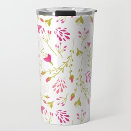 Spring swirling-Budding Travel Mug