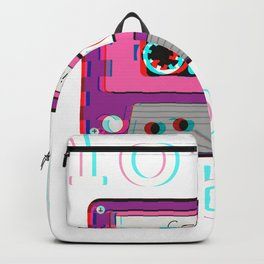 Low Fidelity Music product Aesthetic Tape Lo - fi Vibes design Backpack