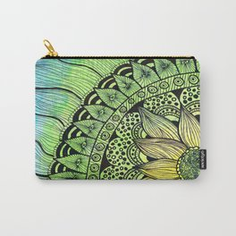 sunflower tangle Carry-All Pouch