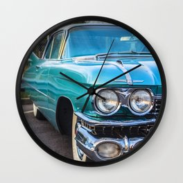 Classic vintage car design styling Wall Clock