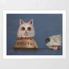 Brutus Art Print