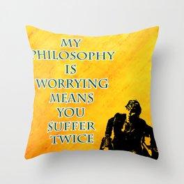 Newt Scamander Quote Throw Pillow