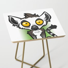 Ring-Tailed Lemur Side Table