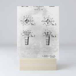 Screw Mini Art Print