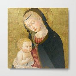 Madonna and Child, Pseudo-Pier Francesco Fiorentino, 1445 Metal Print