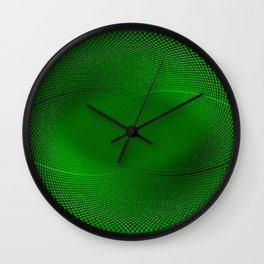 Not easy being Green Wall Clock