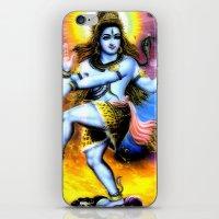 shiva iPhone & iPod Skins featuring Shiva by nuzzocozzamara