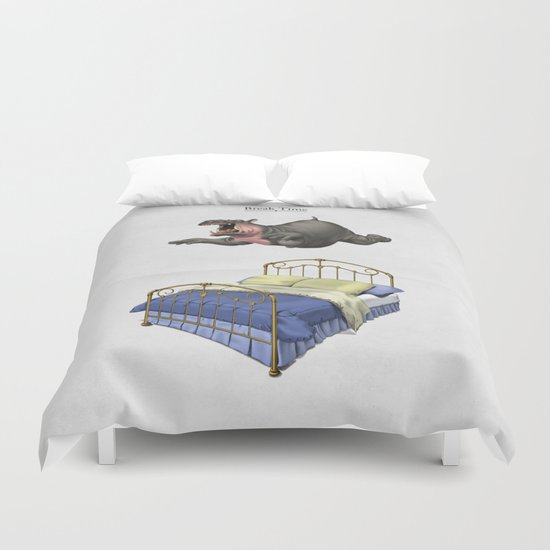 Break Time Duvet Cover