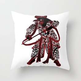 Chinese zodiac sign, Year of the Rooster Throw Pillow