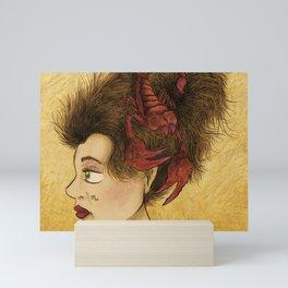 Star Sign- Scorpio Mini Art Print