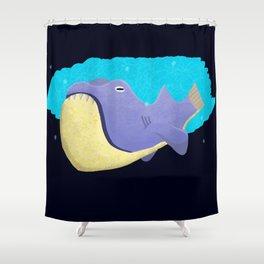 Mega Shark Shower Curtain
