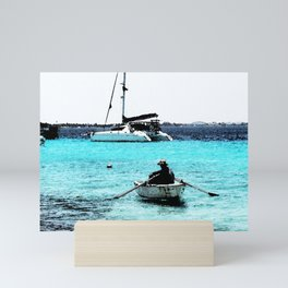 Out to Sea Mini Art Print