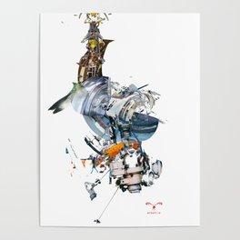 BQ-45 Spacecraft Poster