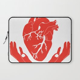 Valuable Heart - Colorful artwork Laptop Sleeve