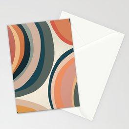 Circular - Modern Art Print Stationery Cards