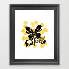 Farfalle | 100 Days of Cookbook Spots Framed Art Print