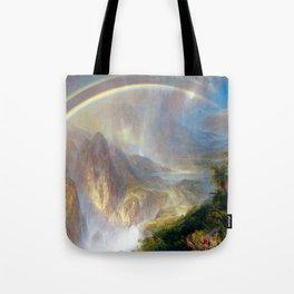 Frederic Edwin Church Rainy Season in the Tropics Tote Bag