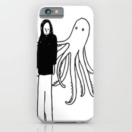 Octopus Hug iPhone Case