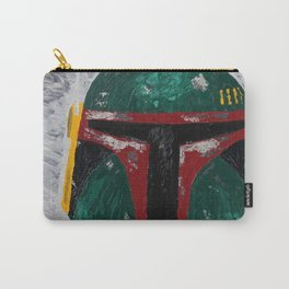 Boba Fett palette knife painting Carry-All Pouch