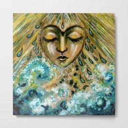 Storm Goddess Metal Print