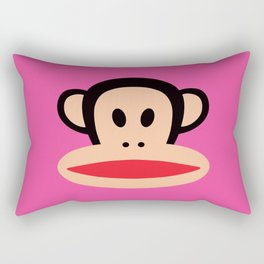 Julius Monkey by Paul Frank - Pink Rectangular Pillow