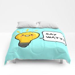 Wattever! Comforters