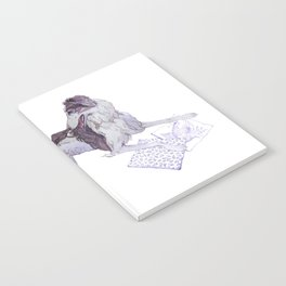 The Silken Windhound and Some Pillows Notebook