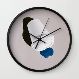 Cup, Shadow and Paint Wall Clock
