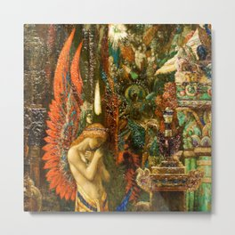 Portrait of the Goddess Saturn by Gustave Moreau Metal Print