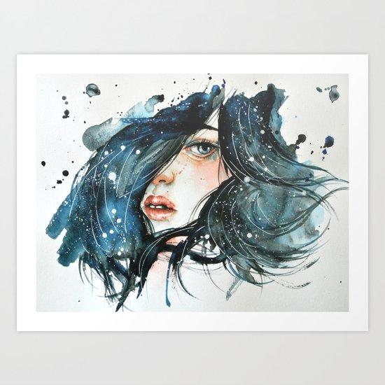 Shh Art Print