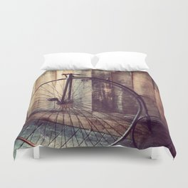 Pieces of the Past Duvet Cover