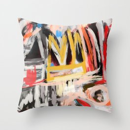 The king was there Throw Pillow