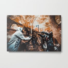 Post-apocalypse: Fight Metal Print