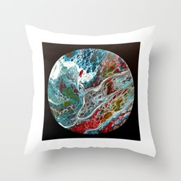 abstract 36 Throw Pillow