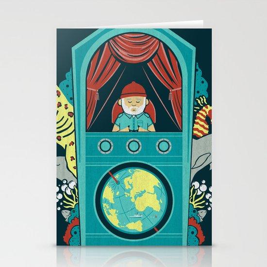 Aquatic Adventurer Stationery Cards
