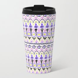 Ethnic lilac pink Travel Mug