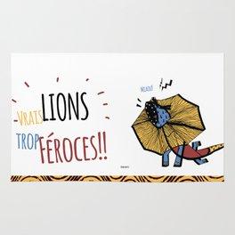 Zodiac Lion Rug