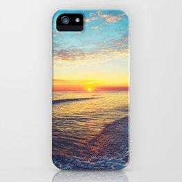 Summer Sunset Ocean Beach - Nature Photography iPhone Case