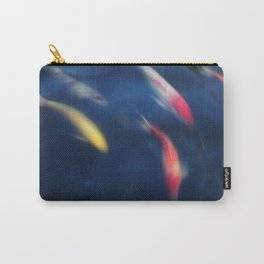 Koi fish in a pond Carry-All Pouch