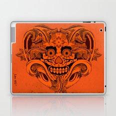 Halloween Crazy Heart Laptop & iPad Skin