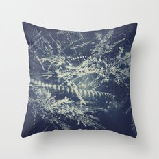 Blueprint Throw Pillow