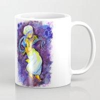 aladdin Mugs featuring Aladdin by Mottinthepot