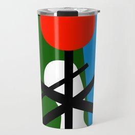 Abstract Geometric Travel Mug