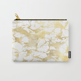 Marble gold Carry-All Pouch