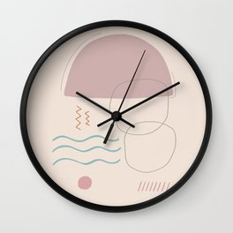 Lluvia Wall Clock