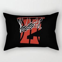2 Years Basketball Birthday - Bball Rectangular Pillow