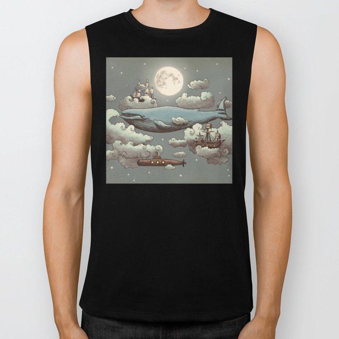 Ocean Meets Sky Biker Tank