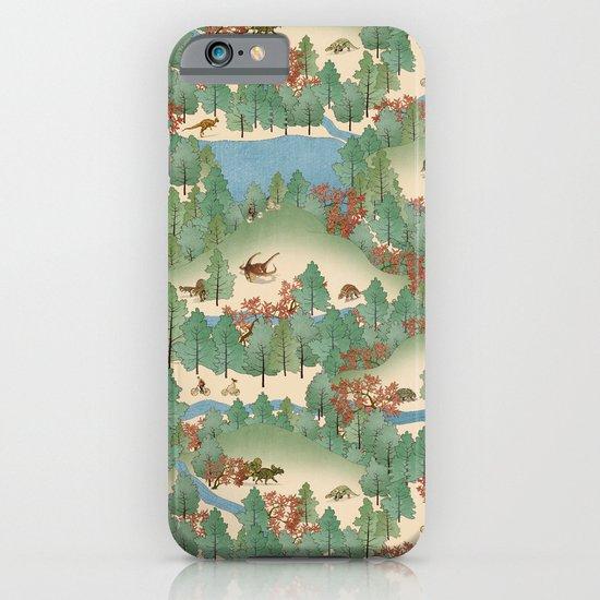 Travelling Through Jurassic iPhone & iPod Case